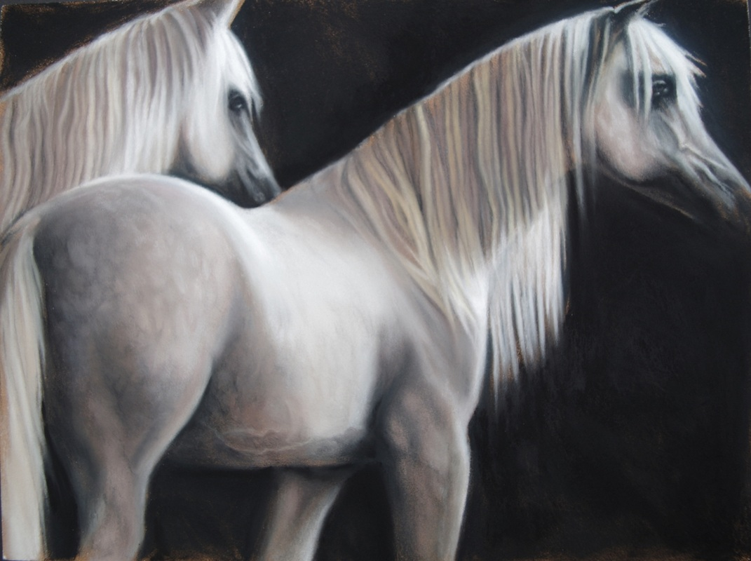 equestrian painting marie donato