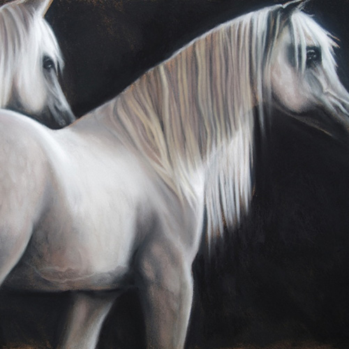 horse painting fine art
