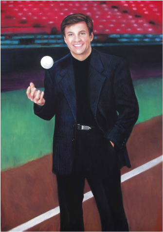 Bob Costas Portrait Commission